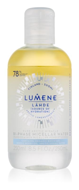 Lumene Lähde [Source of Hydratation] dvoufázová micelární voda